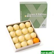 """Комплект шаров 68 мм """"Crown X Edition"""" (без номеров), интернет-магазин товаров для бильярда Play-billiard.ru. Фото 1"""