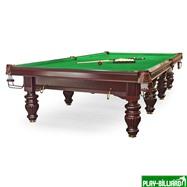 Weekend Бильярдный стол для снукера «Dynamic Prince» 12 ф (махагон), интернет-магазин товаров для бильярда Play-billiard.ru. Фото 4