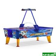 Wik Аэрохоккей «Ice & Fire Gold» 6 ф (199 х 107 х 81 см, цветной, жетоноприемник/купюроприемник), интернет-магазин товаров для бильярда Play-billiard.ru