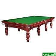 Weekend Бильярдный стол для снукера «Dynamic Refinement» 12 ф (махагон), интернет-магазин товаров для бильярда Play-billiard.ru. Фото 1