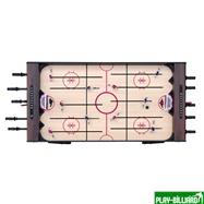 Weekend Хоккей «Легенда 17» (141.5 x 72.4 x 81 см, коричневый), интернет-магазин товаров для бильярда Play-billiard.ru. Фото 4
