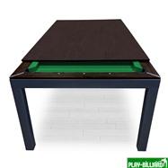 Weekend Бильярдный стол для пула «Evolution High Tech» ЛДСП 6 ф (столовая покрышка в комплекте, венге), интернет-магазин товаров для бильярда Play-billiard.ru. Фото 8