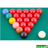 "Aramith Saluc Комплект шаров 52.4 мм ""Super Crystalate"", интернет-магазин товаров для бильярда Play-billiard.ru. Фото 2"