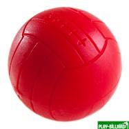 Мяч для футбола P-AE-04/D 36 мм (текстурный пластик, красный), интернет-магазин товаров для бильярда Play-billiard.ru. Фото 1