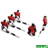 Weekend Команда игроков для хоккея «Юниор», «Метеор» (красная форма), интернет-магазин товаров для бильярда Play-billiard.ru