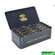 "TIGER Мел ""Tiger High Performance Chalk"" (3 шт) синий, интернет-магазин товаров для бильярда Play-billiard.ru. Фото 6"