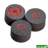 Black Heart Наклейка для кия «Black Heart»  ORIGINALS  (S) 14 мм, интернет-магазин товаров для бильярда Play-billiard.ru. Фото 1