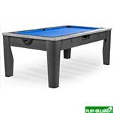 DBO Многофункциональный игровой стол 6 в 1 «Tornado» (темно-серый), интернет-магазин товаров для бильярда Play-billiard.ru