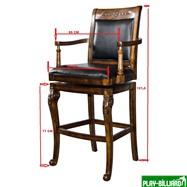 Weekend Барный стул «Douglas», интернет-магазин товаров для бильярда Play-billiard.ru. Фото 2