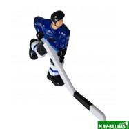 """Хоккеист №30, короткая клюшка """"Edmonton"""" (синий), интернет-магазин товаров для бильярда Play-billiard.ru"""