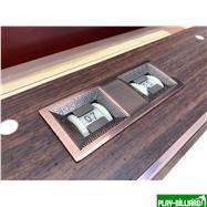 Weekend Бильярдный стол для пула «Reno» 8 ф (махагон), интернет-магазин товаров для бильярда Play-billiard.ru. Фото 2