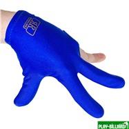 Longoni Перчатка бильярдная «Renzline Start Blue» (синяя), интернет-магазин товаров для бильярда Play-billiard.ru. Фото 3