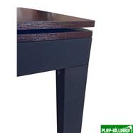 Weekend Бильярдный стол для пула «Evolution High Tech» ЛДСП 6 ф (столовая покрышка в комплекте, венге), интернет-магазин товаров для бильярда Play-billiard.ru. Фото 9