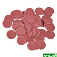 Фибра упаковка 50 шт. (красная, 1 мм, н/д 14мм), интернет-магазин товаров для бильярда Play-billiard.ru