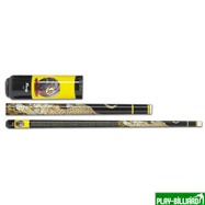 "Кий для пул 2-pc ""Viking LEOPARD"" (клен, желтый винил), интернет-магазин товаров для бильярда Play-billiard.ru"