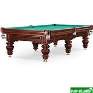 Weekend Бильярдный стол для русского бильярда «Turin» 10 ф (вишня), интернет-магазин товаров для бильярда Play-billiard.ru