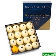 "Aramith Saluc Комплект шаров 68 мм ""Super Aramith Pro"", интернет-магазин товаров для бильярда Play-billiard.ru. Фото 1"