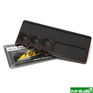 Mezz Cues Инструмент для обработки наклейки «Mezz Cue Magic CMT-T» (коричневый), интернет-магазин товаров для бильярда Play-billiard.ru. Фото 1