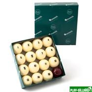 "Aramith Saluc Комплект шаров 60.3 мм ""Aramith Premier"", интернет-магазин товаров для бильярда Play-billiard.ru. Фото 1"