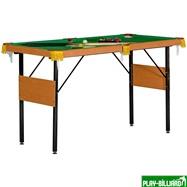 Weekend Бильярдный стол для пула «Hobby 4.5'» (в комплекте), интернет-магазин товаров для бильярда Play-billiard.ru. Фото 1
