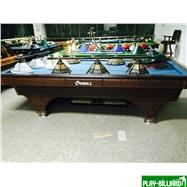 Weekend Стол / карамболь «Hollywood» 9.3 ф (кофе) + плита, интернет-магазин товаров для бильярда Play-billiard.ru. Фото 1