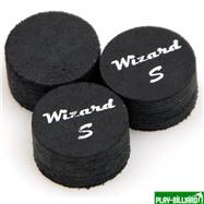 Wizard Наклейка для кия «Black Wizard» (S) 14 мм, 11 слоев, интернет-магазин товаров для бильярда Play-billiard.ru. Фото 1