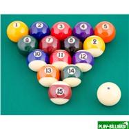 "Aramith Saluc Комплект шаров 57.2 мм ""Aramith Premium"", интернет-магазин товаров для бильярда Play-billiard.ru. Фото 2"