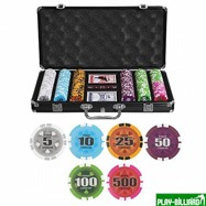 Набор для покера Caracas на 300 фишек, интернет-магазин товаров для бильярда Play-billiard.ru