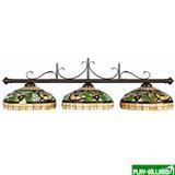 """R.A.M. Лампа на три плафона """"Sonoma"""", интернет-магазин товаров для бильярда Play-billiard.ru"""