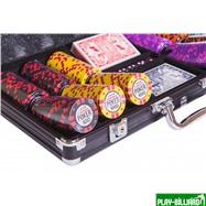 Набор для покера Tournament на 300 фишек, интернет-магазин товаров для бильярда Play-billiard.ru. Фото 2