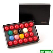 "Aramith Saluc Комплект шаров 52.4 мм ""Super Crystalate"", интернет-магазин товаров для бильярда Play-billiard.ru. Фото 1"