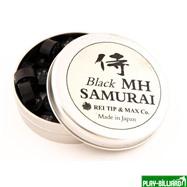 REI TIP & MAX Co. Наклейка для кия «Rei Samurai Black» (MH) 14 мм, интернет-магазин товаров для бильярда Play-billiard.ru. Фото 2