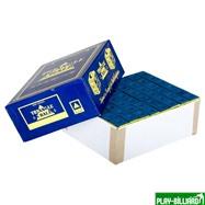 Weekend Мел «Standart» (144 шт) синий, интернет-магазин товаров для бильярда Play-billiard.ru. Фото 1