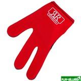 Longoni Перчатка бильярдная «RenzLine Bicolor» (красная), интернет-магазин товаров для бильярда Play-billiard.ru