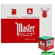 Tweeten Мел «Master» (12 шт) зеленый, интернет-магазин товаров для бильярда Play-billiard.ru