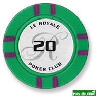 Набор для покера Le Royale на 500 фишек, интернет-магазин товаров для бильярда Play-billiard.ru. Фото 4