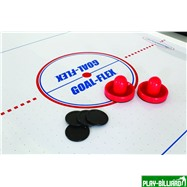 Atomic Аэрохоккей «Atomic Power Play» 7 ф (214 х 117 х 79 см, черный), интернет-магазин товаров для бильярда Play-billiard.ru. Фото 9