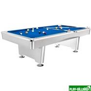 Weekend Бильярдный стол для пула «Dynamic Triumph» 8 ф (матово-белый) в комплекте, аксессуары + сукно, интернет-магазин товаров для бильярда Play-billiard.ru
