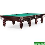 Weekend Бильярдный стол для русского бильярда «Turin» 12 ф (вишня), интернет-магазин товаров для бильярда Play-billiard.ru