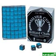 Weekend Мел «Silver Cup» (144 шт) синий, интернет-магазин товаров для бильярда Play-billiard.ru