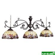 """Лампа на три плафона """"Regency"""", интернет-магазин товаров для бильярда Play-billiard.ru"""