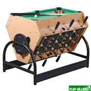 Weekend Игровой стол «Mini 3-in-1» (футбол, аэрохоккей, бильярд), интернет-магазин товаров для бильярда Play-billiard.ru. Фото 1