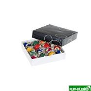 Weekend Комплект брелков «1-15» (упаковка 15 шт), интернет-магазин товаров для бильярда Play-billiard.ru. Фото 2