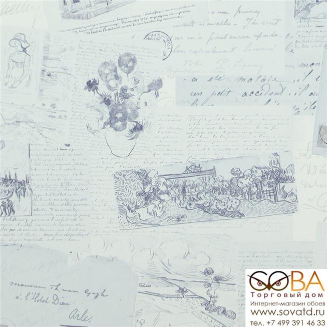 Обои BN 17203 Van Gogh купить по лучшей цене в интернет магазине стильных обоев Сова ТД. Доставка по Москве, МО и всей России