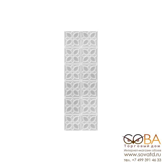 Плитка Meissen  Lissabon рельеф квадраты серый 25х75 купить по лучшей цене в интернет магазине стильных обоев Сова ТД. Доставка по Москве, МО и всей России