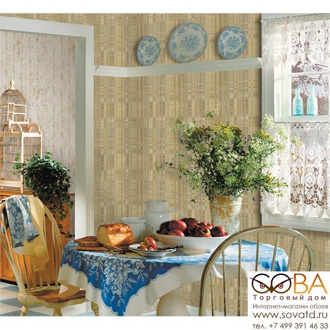Обои Seabrook AN41405 Antoinette купить по лучшей цене в интернет магазине стильных обоев Сова ТД. Доставка по Москве, МО и всей России