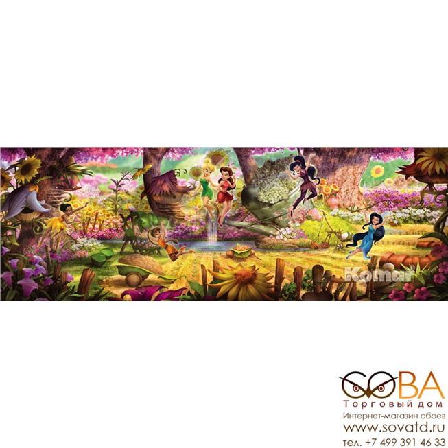 Фотообои Komar Fairies Forest артикул 4-416 размер 368 x 127 cm площадь, м2 4,6736 на бумажной основе купить по лучшей цене в интернет магазине стильных обоев Сова ТД. Доставка по Москве, МО и всей России