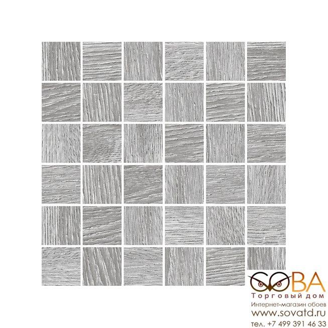 Мозаика Cersanit  Woodhouse серый 30х30 купить по лучшей цене в интернет магазине стильных обоев Сова ТД. Доставка по Москве, МО и всей России