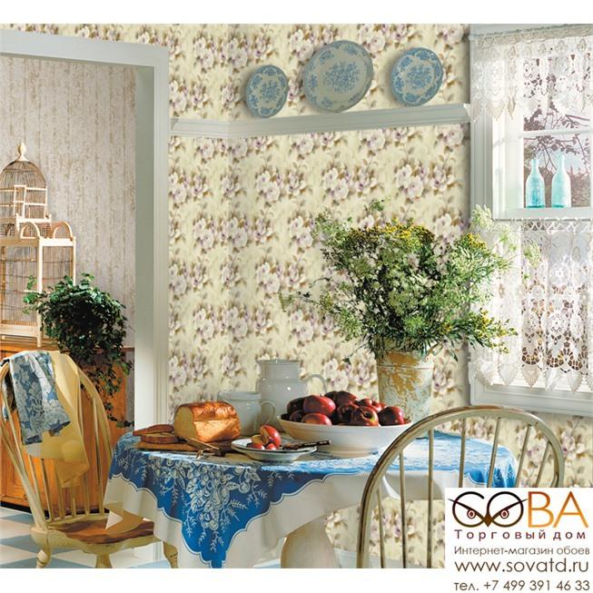 Обои Seabrook AQ51109 Watercolor купить по лучшей цене в интернет магазине стильных обоев Сова ТД. Доставка по Москве, МО и всей России