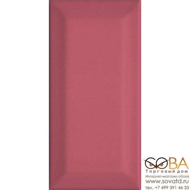Плитка Kerama Marazzi  Клемансо розовый грань 7,4х15 купить по лучшей цене в интернет магазине стильных обоев Сова ТД. Доставка по Москве, МО и всей России